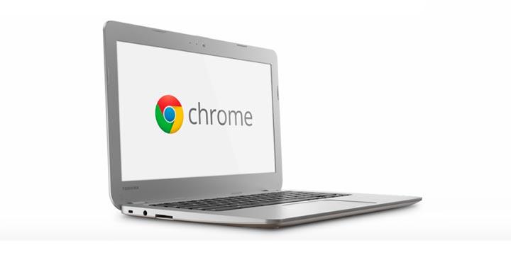 Новый ноутбук на базе OS Chrome