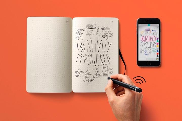 Smart Writing Set. Устройство, переносящее рукописные записи в смартфон