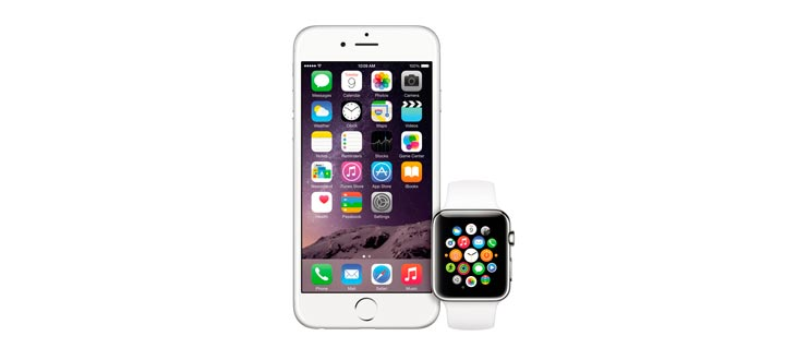 iPhone и часы Apple Watch