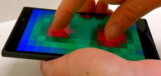 Дисплей с Pre-Touch Sensing
