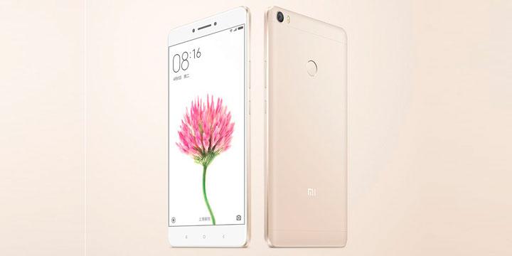 Представлен самый большой фаблет Xiaomi Mi Max