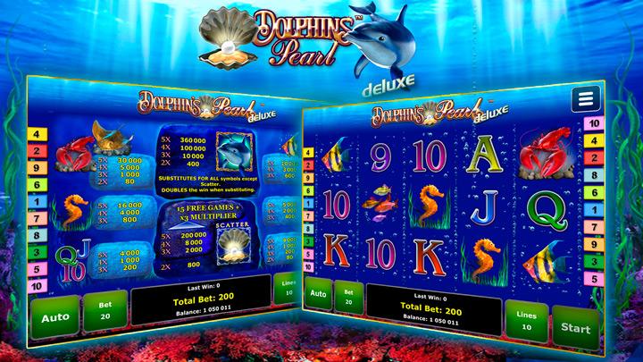 Dolphins Pearl Deluxe. Поиск драгоценностей под водой