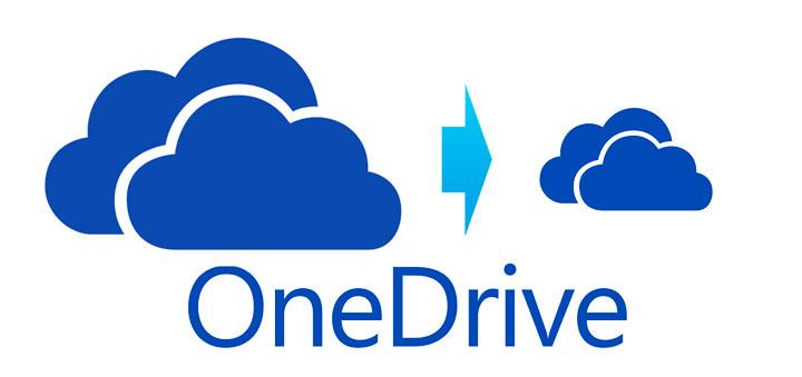 Бесплатный OneDrive станет меньше в три раза