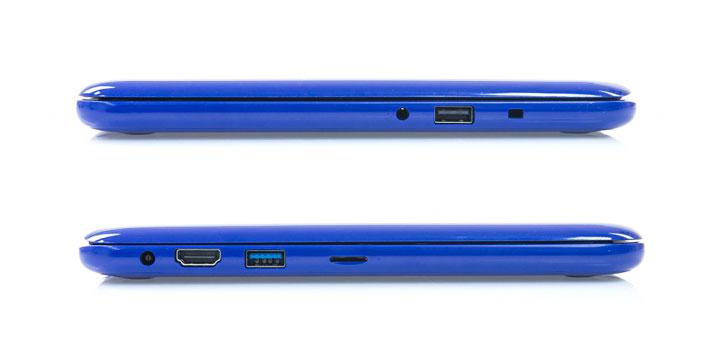 Порты ноутбука Dell Inspiron 11