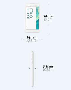 Характеристики Sony Xperia E5