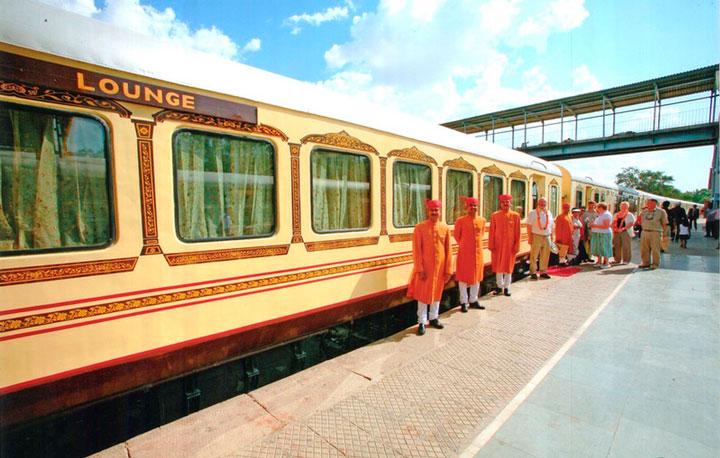 Число ж/д станций в Индии