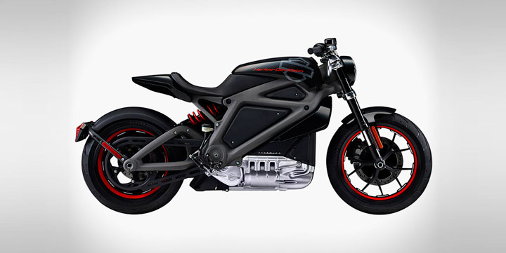 Электроцикл Harley-Davidson