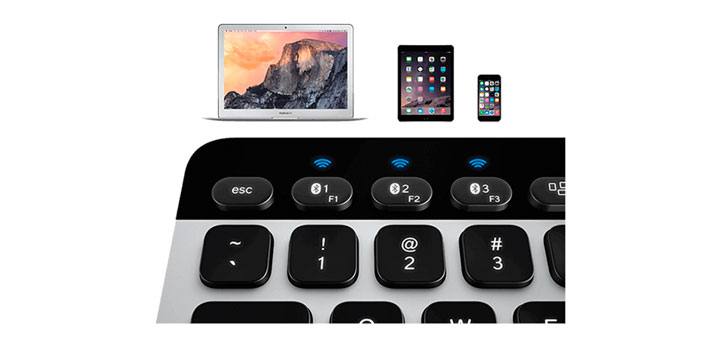 Logitech универсальная клавиатура