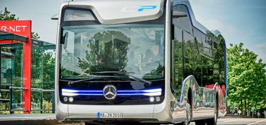 Беспилотный автобус Mercedes-Benz