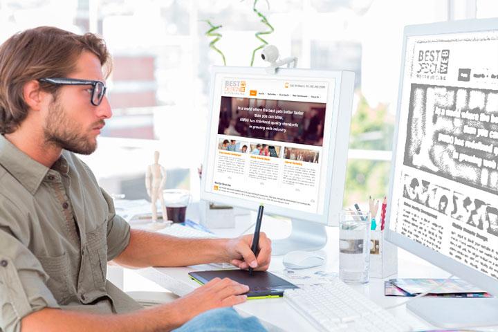 Конструкторы для создания сайта