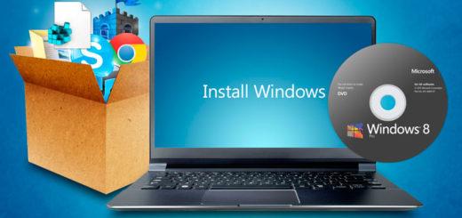 Переустановка ОС windows на ноутбуке.