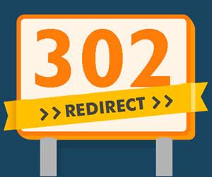 Редирект 302 для склейки доменов