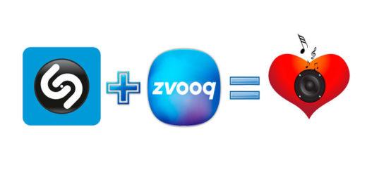 Shazam и Zvooq — бесплатная музыка
