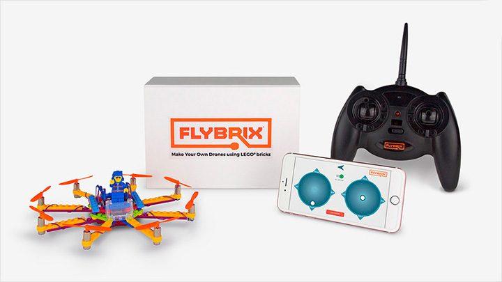 Flybrix беспилотник из кубиков