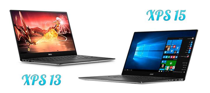Ноутбуки Dell XPS 13 и XPS 15