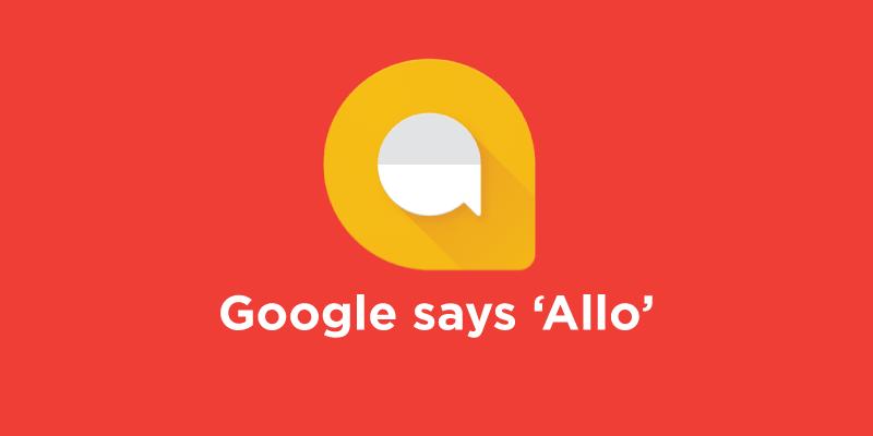 Приложение Google Allo