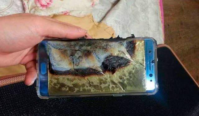 Взрывающиеся аккумуляторы Samsung Galaxy Note 7
