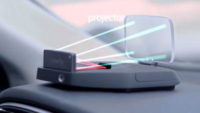 Автомобильный проектор Navdy