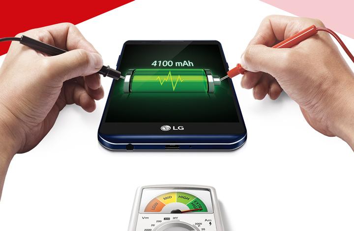 Автономность LG X Power