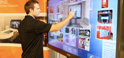 Инновационное сенсорное интерактивное оборудование
