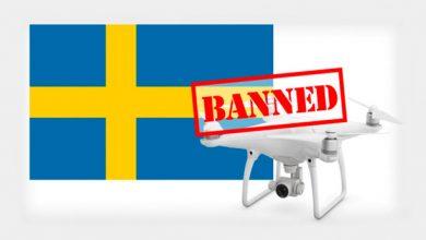 В Швеции дроны под запертом