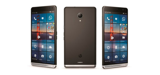 HP смартфон на ОС Windows 10 Mobile
