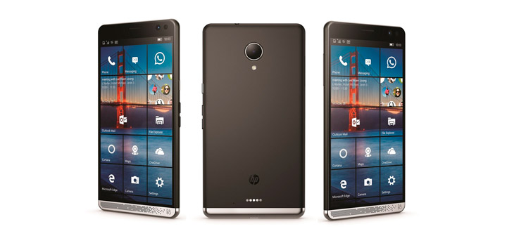 HP смартфон на ОС Windows 10 Mobile