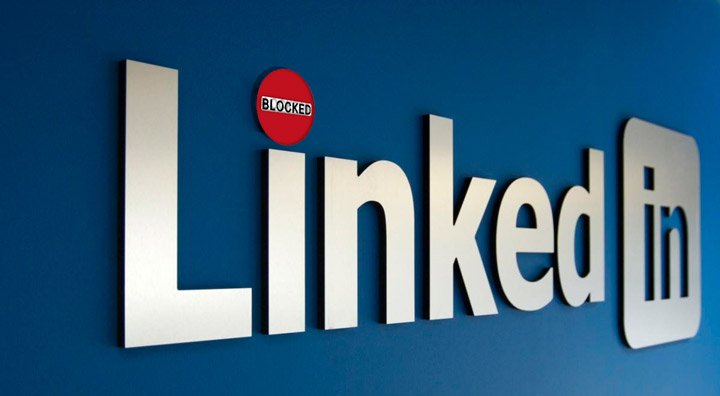 LinkedIn заблокирована в России