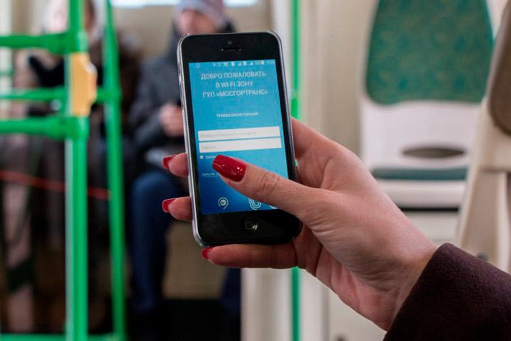 Бесплатный Wi-Fi в поездах Москвы