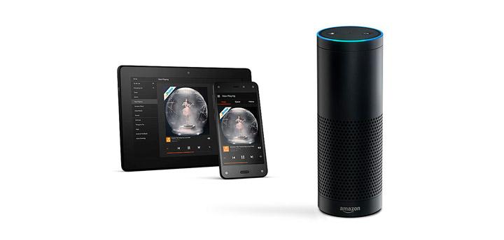 «Умная» колонка Amazon Echo
