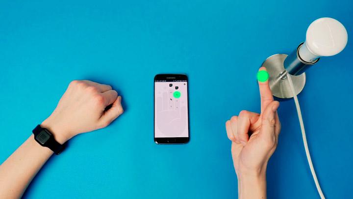 контролер для управления устройствами при помощи отпечатков