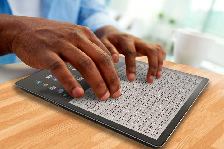 BLITAB: первый планшет для слепых