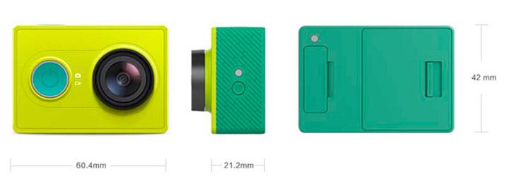 Xiaomi Yi Action Camera Характеристики