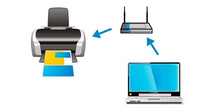 Как связать принтер с компьютером