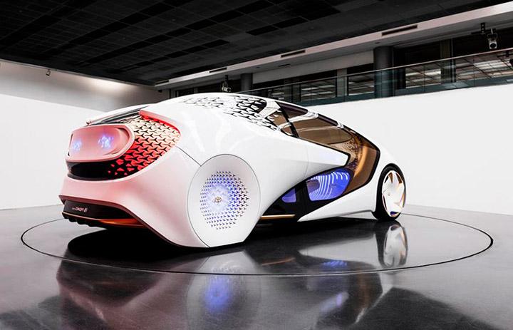 Машины будущего CES 2017