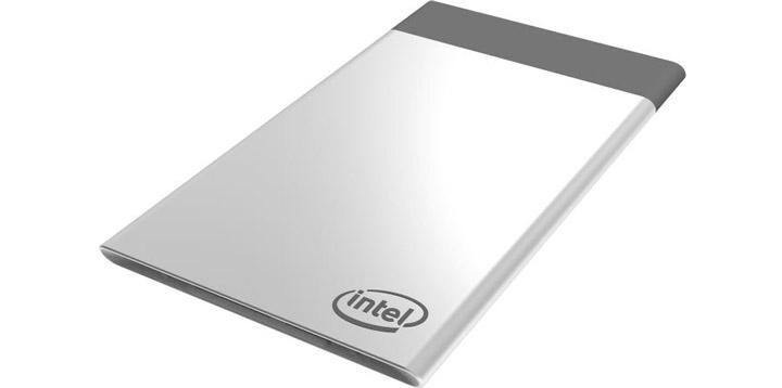 ПК размером с кредитку карту от Intel CES 2017