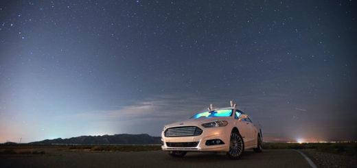 Автомобили Ford научатся видеть людей в темноте