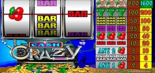 Cash crazy – автомат