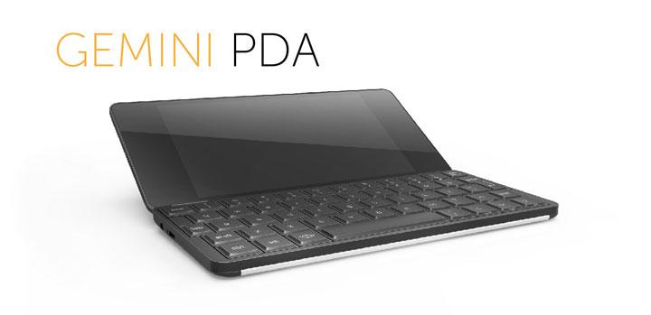 Gemini PDA Суперкомпактный ноутбук