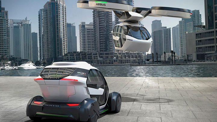 Летающий автомобиль Airbus Pop.Up