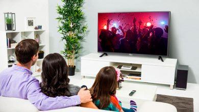На каком расстоянии смотреть телевизор?