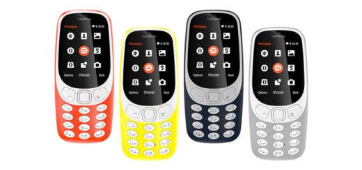 Анонсированный Nokia 3310
