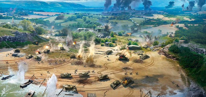 Игра World of Tanks обзавелась новым режимом «Линия фронта»