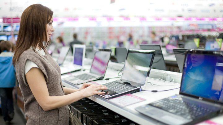 Россияне стали активнее покупать ноутбуки
