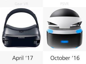 Дата релиза Samsung Gear VR (2017) и Sony PlayStation VR