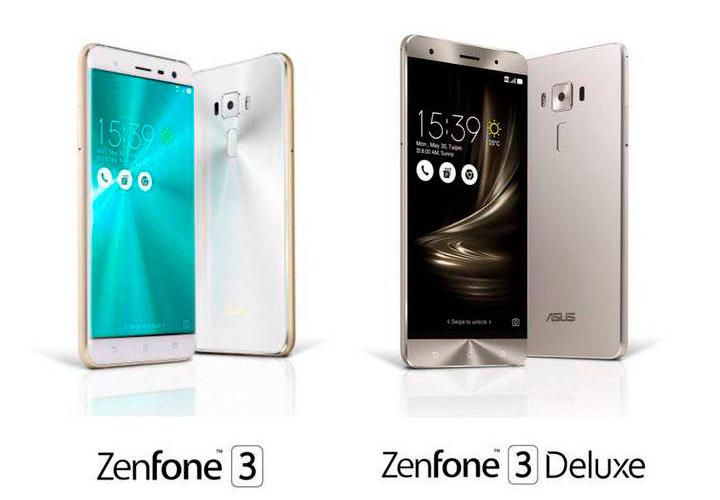 Сравнение смартфонов ASUS ZenFone 3 или ASUS ZenFone 3 Deluxe