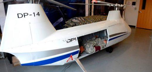 Армия США испытывает беспилотник DP14 Hawk