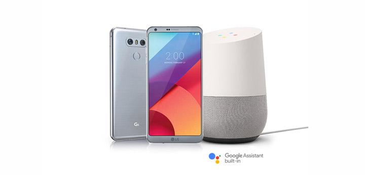 Бытовые приборы LG с Google Home