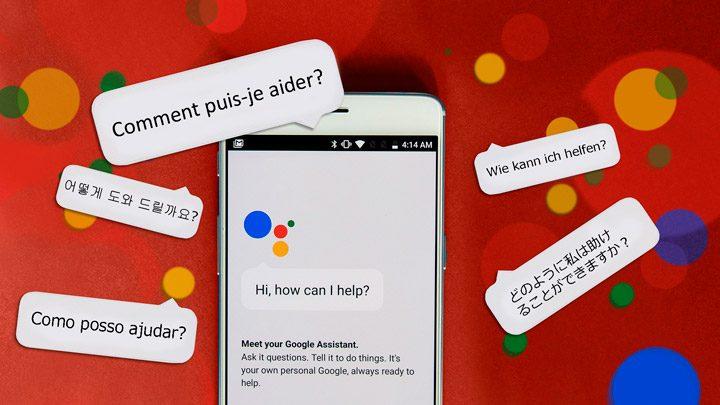 Google Assistant языки