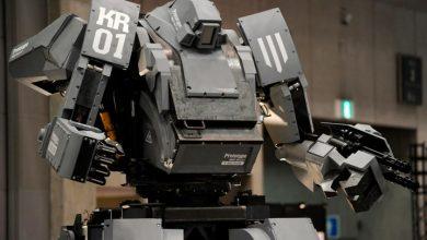 Китайский боевой робот